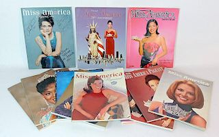 Contemporary Miss America Pageant Programs
