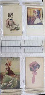 Vintage Fashion Postcards