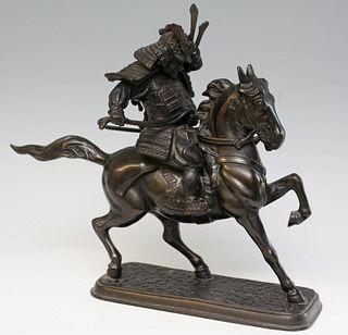 Japanese Bronze Sculptue