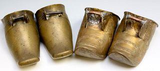 Antique Brass Stirrups