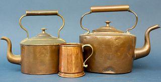 Copper Kettles and Mug