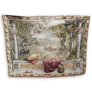 """French """"The Royal Palace"""" Tapestry"""