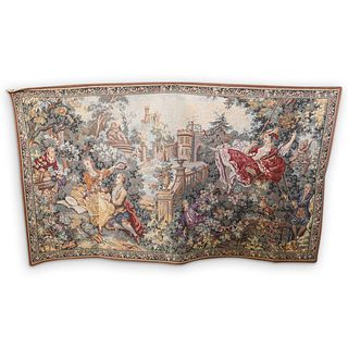 """French """"The Swing"""" Tapestry"""