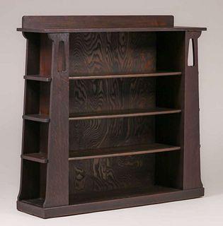 Limbert #356 Two-Door Open Bookcase c1905
