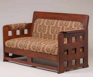 Karpen Furniture Co - Chicago Cutout Sofa c1910