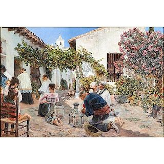 José Gallegos Y Arnosa (Spanish, 1859-1917)