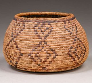 Native American Basket - California Mission Tribes c1910s