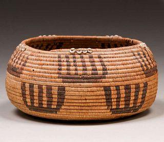 Native American Pomo Basket c1910s