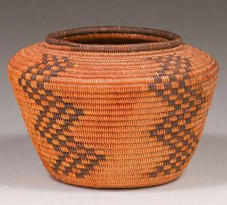 Native American Basket - Chemehuevi Tribe Death Valley, CA c1910s