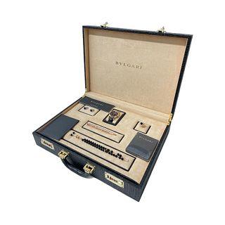 Bvlgari Rare Briefcase Set (retail $100,000)