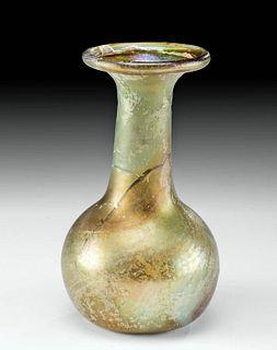 Petite Roman Glass Candlestick Unguentarium