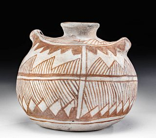Anasazi Chaco Canyon Pottery Canteen