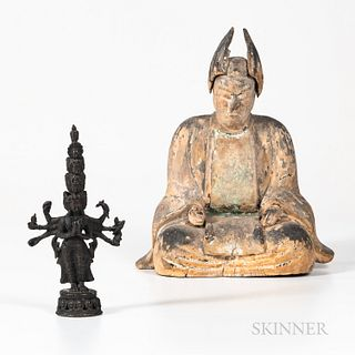Two Buddhist Figures