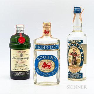 Mixed Gin, 3 4/5 quart bottles