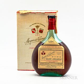 Marquis de Caussade 10 Years Old, 1 4/5 quart bottle (oc)