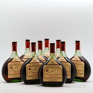 Marquis de Caussade 10 Years Old, 9 4/5 quart bottles (oc)