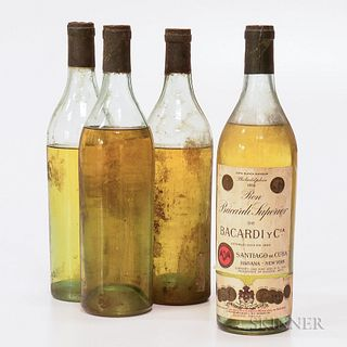 Bacardi Carta Blanca Superior, 4 24oz bottles