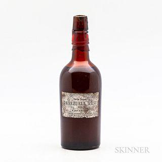 Venezuela Rum 10 Years Old 1925, 1 bottle
