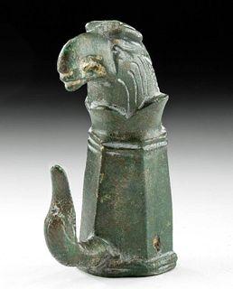 Romano-British Bronze Chariot Fitting w/ Eagle Head