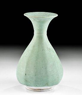 Korean Koryo Celadon Stoneware Vessel