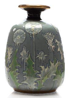Amphora RSt&K Celadon Pottery Vase