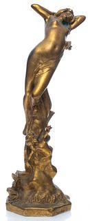 """Enrico Vannucci """"Triomphe de Jeunesse"""" Bronze"""