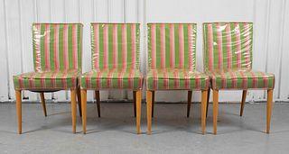 T.H. Robsjohn-Gibbings Widdicomb Dining Chairs, 4