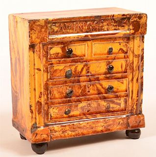 Scroddleware Chest of Drawers Form Still Bank.