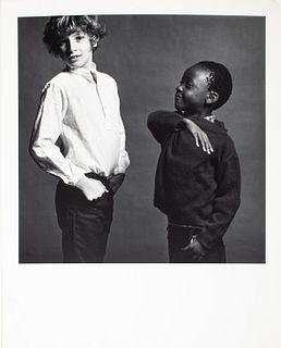 "Robert Mapplethorpe ""Sebastian and Nda"" 1981"