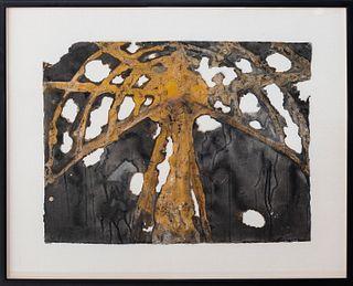 "Michael Solomon ""Green House"" Mixed Media, 1993"