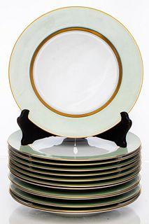 "Fitz & Floyd ""Renaissance"" Dinner Plates, 13"