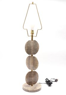 R&Y Augousti Snakeskin Table Lamp