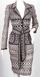 Missoni Knit Sweater And Skirt Suit
