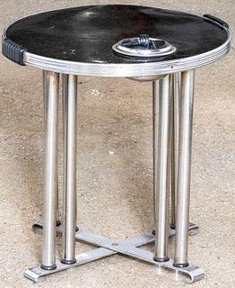 Art Deco Smoker's Cocktail Table