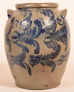 Four Gallon Stoneware Pottery Crock.