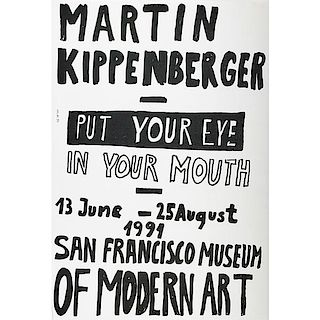 Martin Kippenberger (German, 1953-1997)