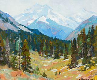 Carl Rungius (1869–1959) — On Simpson Pass (1920)