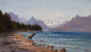 John Fery (1859–1934) — Lake McDonald