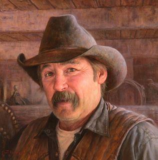 Scott Tallman Powers (b. 1972) — Leather and Steel (2015)
