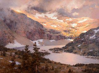 Mark Boedges (b. 1973) — Hidden Lake (2021)