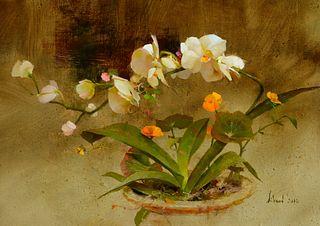 Richard Schmid (1934–2021) — Orchid (2010)