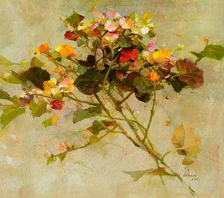 Richard Schmid (1934–2021) — Little Begonias (2008)