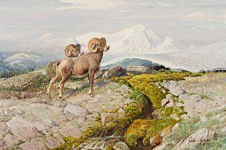 John Clymer (1907–1989) — Snow Line (1977)
