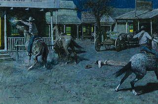 Donald Teague (1897–1991) — A Parting Shot