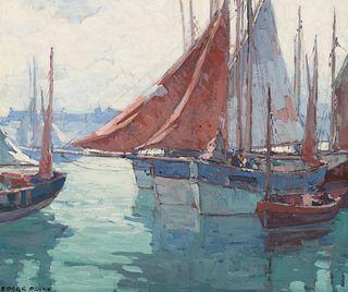 Edgar Payne (1883–1947) — Harbor Rest