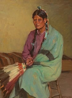 Joseph Henry Sharp (1859–1953) — Taos Memories