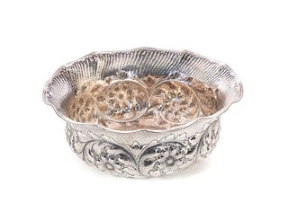 Gorham Sterling Repouse Bowl