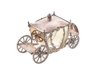 Robert Anstead Sterling Silver Carriage