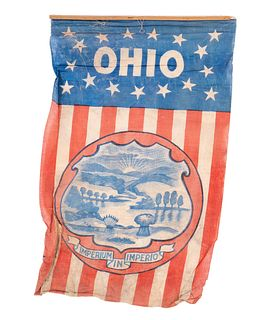 Ohio 16 Star Flag IMPERIUM IN IMPERIO Inaguration