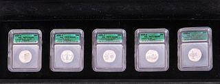 2000-S ICG PR70 DCAM STATE QUARTER SET